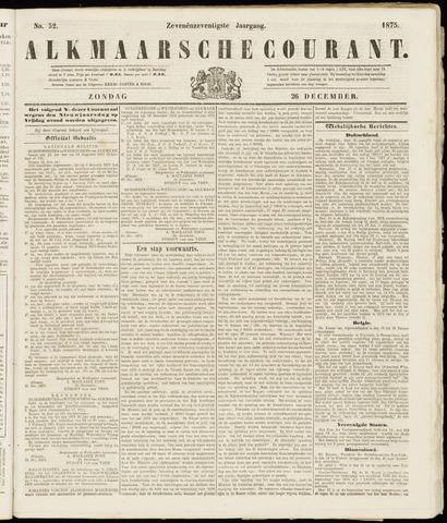 Alkmaarsche Courant 1875-12-26