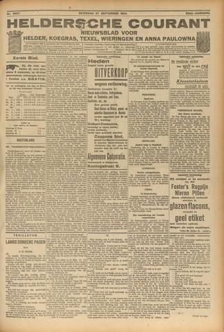 Heldersche Courant 1924-09-27