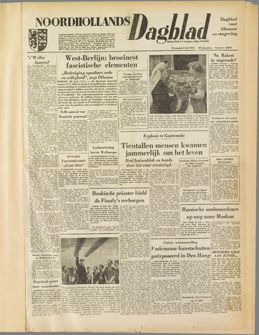 Noordhollands Dagblad : dagblad voor Alkmaar en omgeving 1953-07-01