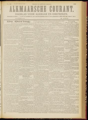 Alkmaarsche Courant 1916-04-29
