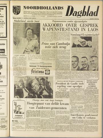 Noordhollands Dagblad : dagblad voor Alkmaar en omgeving 1961-05-02