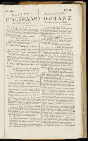 Alkmaarsche Courant 1811-03-25