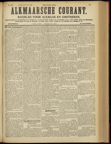 Alkmaarsche Courant 1928-11-22