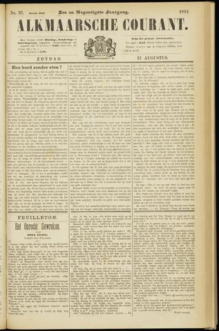Alkmaarsche Courant 1894-08-12