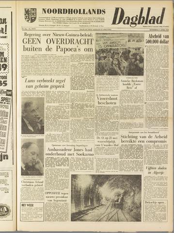 Noordhollands Dagblad : dagblad voor Alkmaar en omgeving 1962-04-05