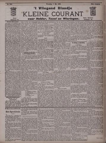 Vliegend blaadje : nieuws- en advertentiebode voor Den Helder 1900-05-09