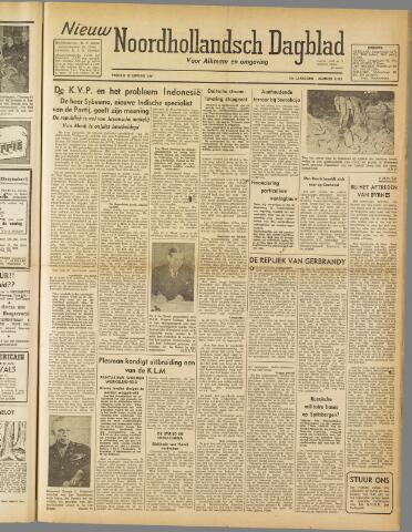 Nieuw Noordhollandsch Dagblad : voor Alkmaar en omgeving 1947-01-10
