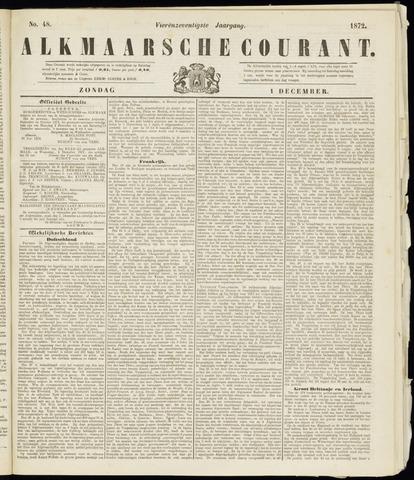 Alkmaarsche Courant 1872-12-01
