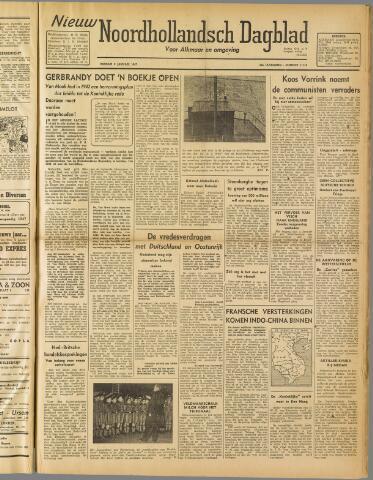 Nieuw Noordhollandsch Dagblad : voor Alkmaar en omgeving 1947-01-03