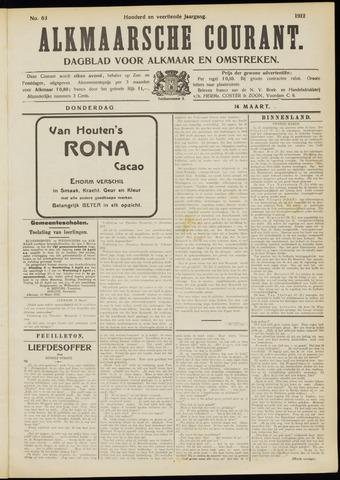 Alkmaarsche Courant 1912-03-14