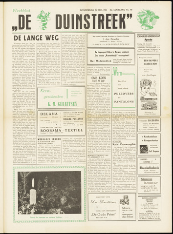 De Duinstreek 1961-12-21