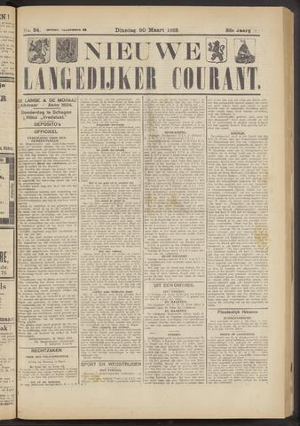 Nieuwe Langedijker Courant 1923-03-20