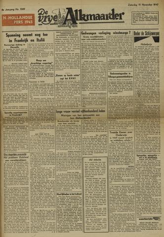 De Vrije Alkmaarder 1947-11-15