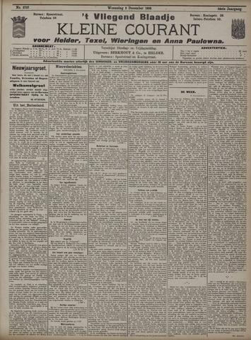 Vliegend blaadje : nieuws- en advertentiebode voor Den Helder 1908-12-09
