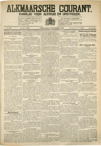 Alkmaarsche Courant 1930-11-05