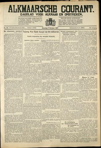 Alkmaarsche Courant 1937-10-05