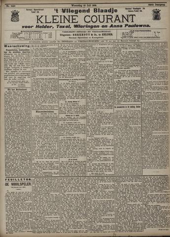 Vliegend blaadje : nieuws- en advertentiebode voor Den Helder 1906-07-25