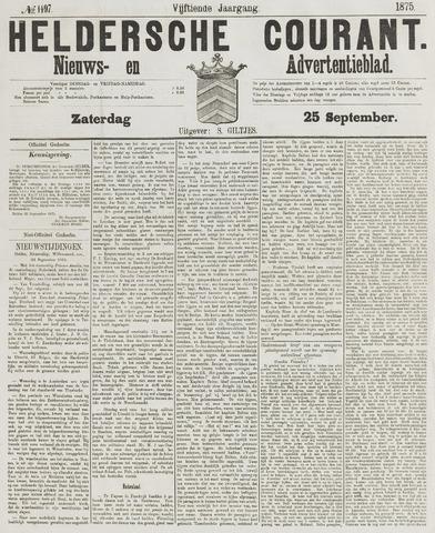 Heldersche Courant 1875-09-25