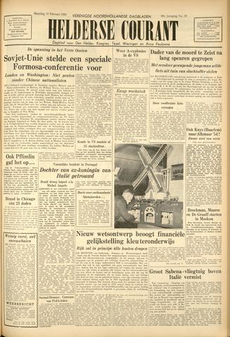 Heldersche Courant 1955-02-14