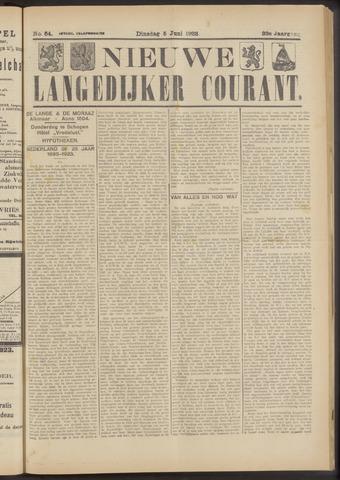 Nieuwe Langedijker Courant 1923-06-05