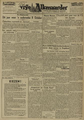 De Vrije Alkmaarder 1946-09-20