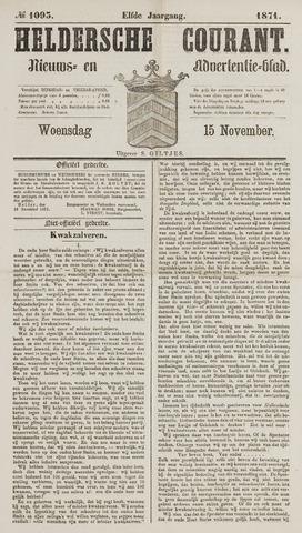 Heldersche Courant 1871-11-15