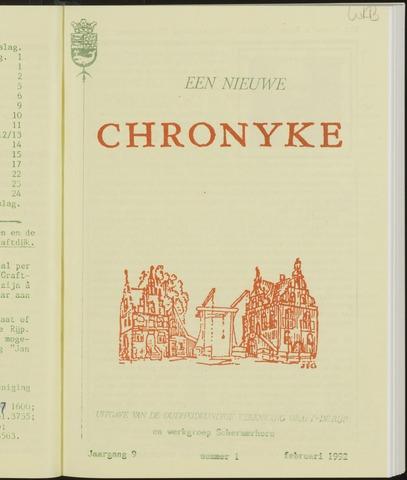 Een Nieuwe Chronyke van het Schermereiland 1992-02-01