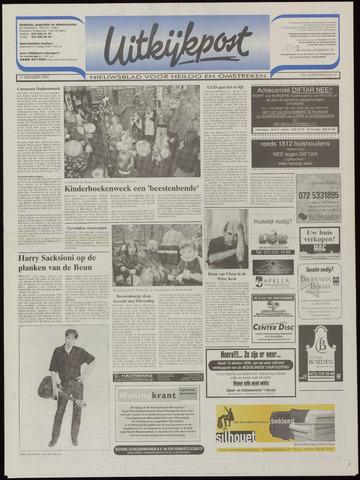Uitkijkpost : nieuwsblad voor Heiloo e.o. 2000-10-11