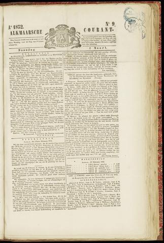 Alkmaarsche Courant 1852-03-01