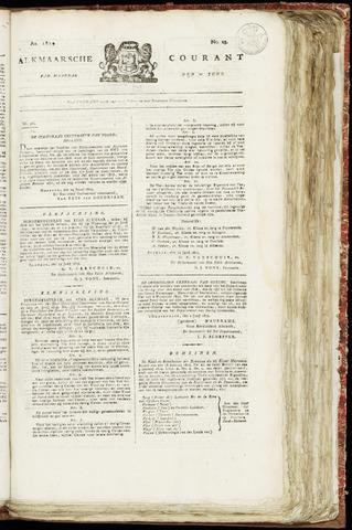 Alkmaarsche Courant 1819-06-21