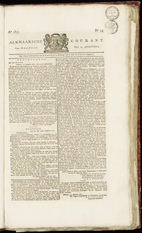 Alkmaarsche Courant 1831-08-22