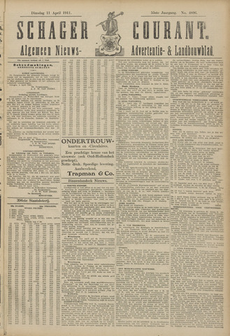 Schager Courant 1911-04-11