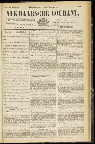 Alkmaarsche Courant 1900-11-09