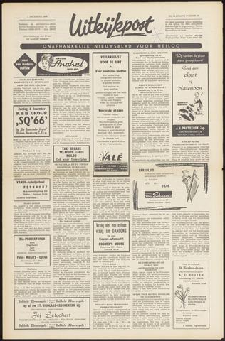 Uitkijkpost : nieuwsblad voor Heiloo e.o. 1966-12-01