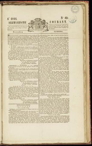 Alkmaarsche Courant 1844-10-14