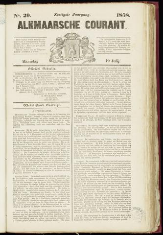 Alkmaarsche Courant 1858-07-19