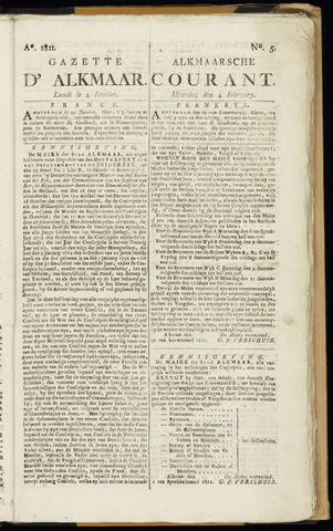 Alkmaarsche Courant 1811-02-04