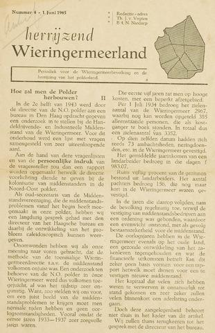 Herrijzend Wieringermeerland 1945-06-01