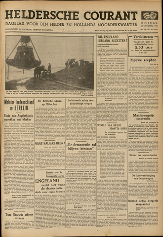 Heldersche Courant 1940-11-12