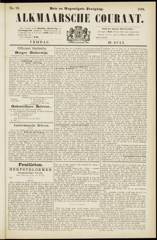 Alkmaarsche Courant 1891-07-10