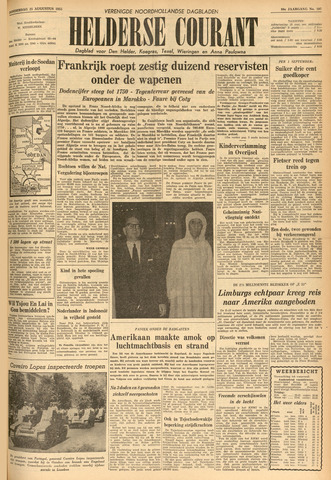 Heldersche Courant 1955-08-25