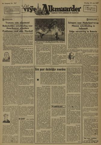 De Vrije Alkmaarder 1947-06-24