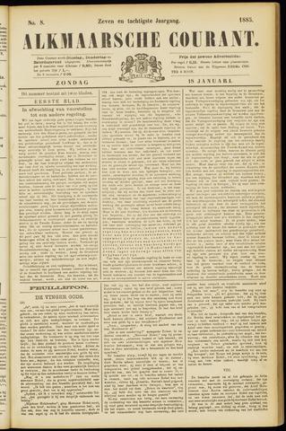 Alkmaarsche Courant 1885-01-18