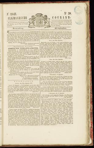Alkmaarsche Courant 1847-09-20