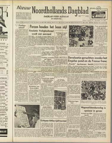 Nieuw Noordhollandsch Dagblad : voor Alkmaar en omgeving 1951-10-13