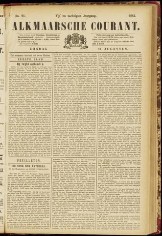 Alkmaarsche Courant 1883-08-12