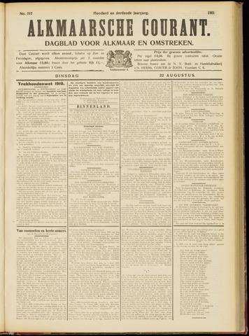 Alkmaarsche Courant 1911-08-22