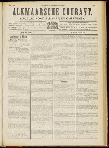 Alkmaarsche Courant 1911-11-09
