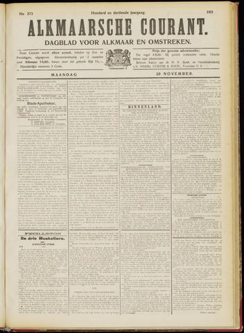Alkmaarsche Courant 1911-11-20