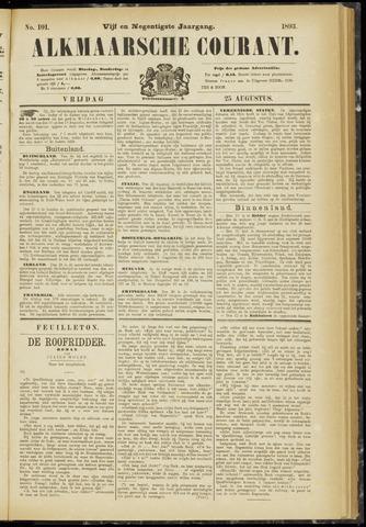 Alkmaarsche Courant 1893-08-25